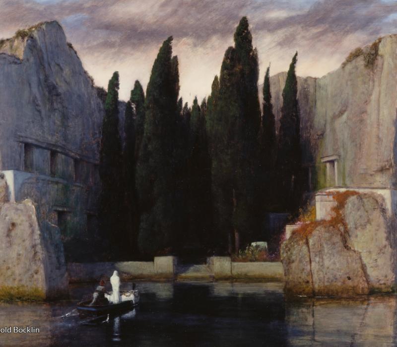 Arnold Böcklin The Isle of the Dead_Charon