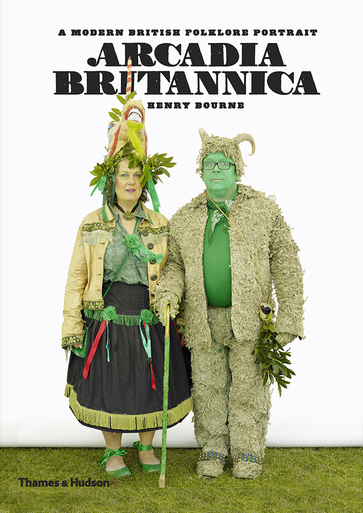 Arcadia Britannica, Mr & Mrs Bob Humm, Jack in the Green, Hastings 2009, photograph ©Henry Bourne.