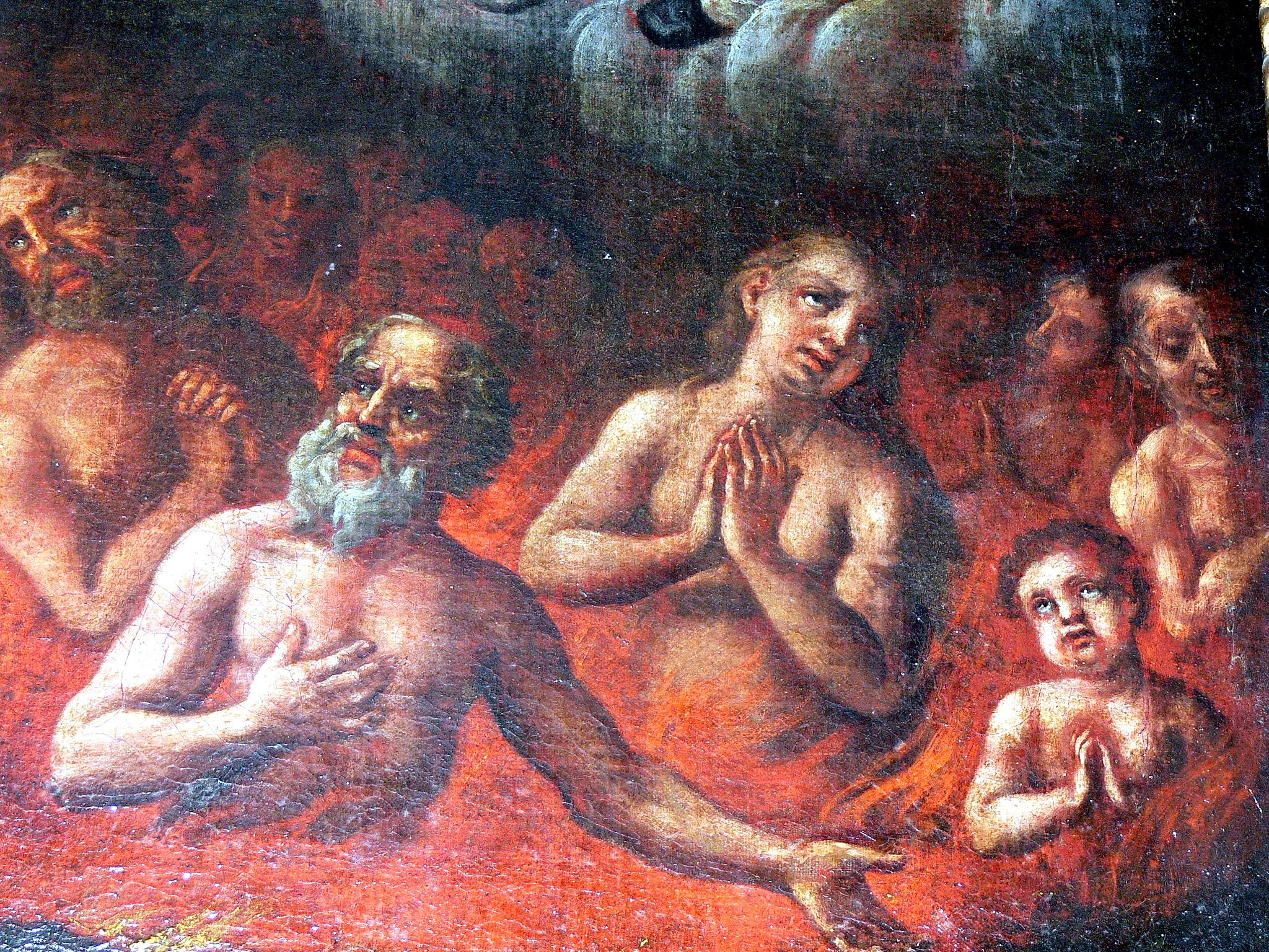 The souls in Purgatory in Rohrbach parish church. (c. 1700)