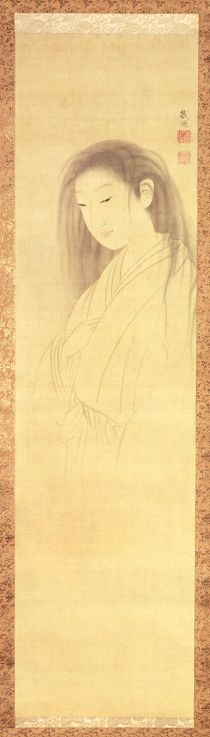The Ghost of Oyuki, Maruyama Ōkyo. Several centuries old. Public domain.