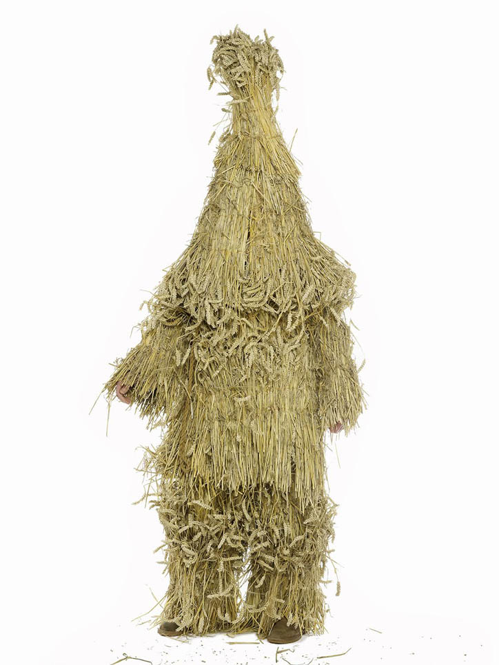 The Straw Bear, Christian Cornell, Straw-Bear Festival, Whittlesea, 2010, Student. Photograph ©Henry Bourne.