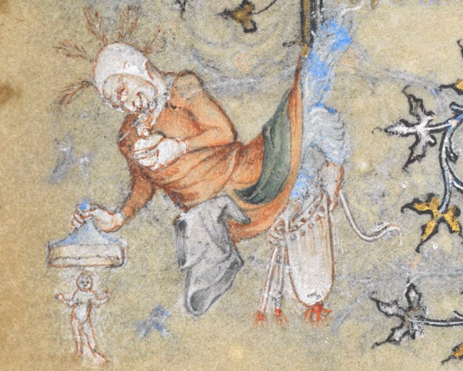 'The Hours of Yolande of Flanders', BL Yates Thompson MS 27 (c. 1353-63), fol. 115v.