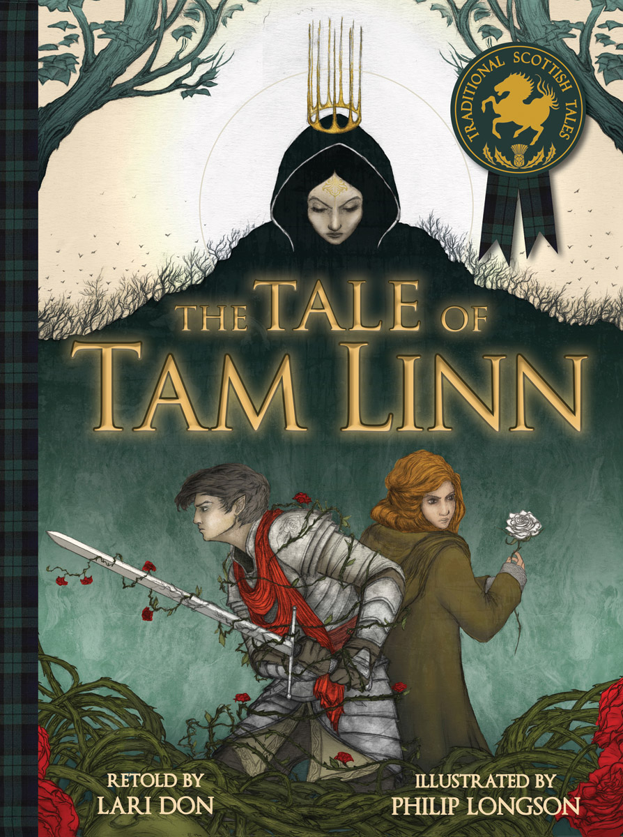 The Tale of Tam Linn – a retelling of the Scottish Border Ballad © Philip Longson (Floris Books)
