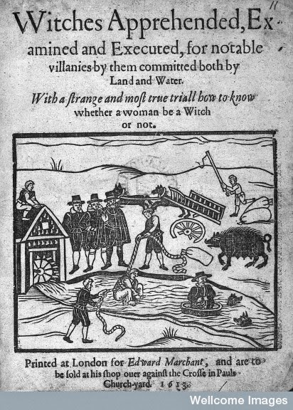 The Swimming of a Witch © Wellcome Library