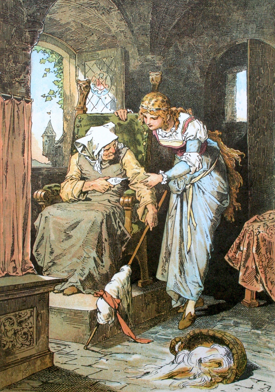 Sleeping Beauty; Darstellung von Alexander Zick (1845 - 1907) https://commons.wikimedia.org/wiki/File:Dornr%C3%B6schen.jpg?uselang=en-gb#/media/File:Dornr%C3%B6schen.jpg