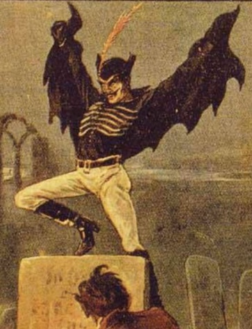 Spring-heeled Jack: The Terror of London - English penny dreadful (c. 1890)
