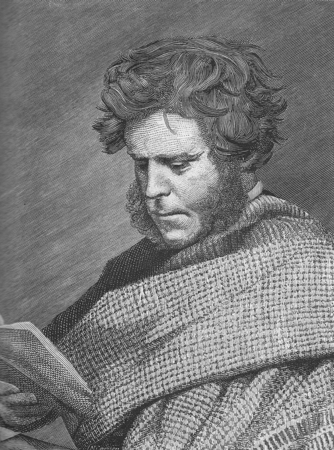The tragic Hugh Miller https://commons.wikimedia.org/wiki/File:Sketch_of_Hugh_Miller.jpg