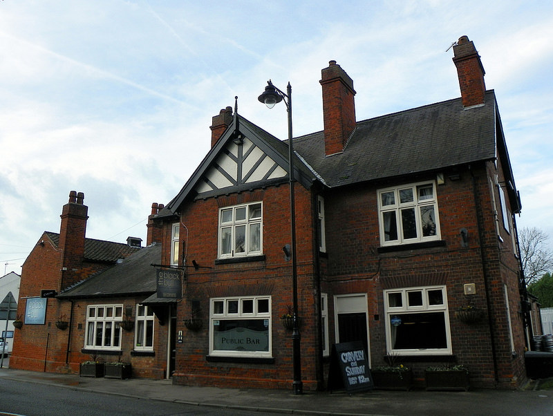 The Black Bull in Kirton, Lincolnshire, near to where the experience with the Belle Hole Black Dog was reported © Peter O'Connor https://www.flickr.com/photos/anemoneprojectors/26497289342