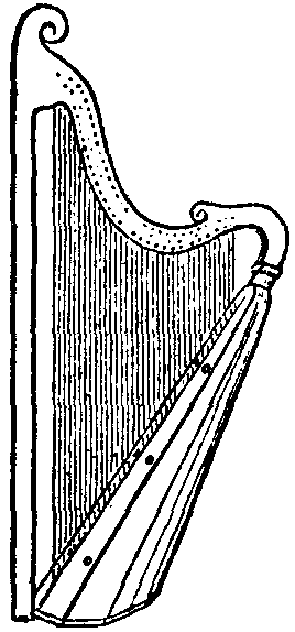 Drawing of a Welsh triple harp from Encyclopædia Britannica https://commons.wikimedia.org/wiki/File:Britannica_Harp_Welsh_Triple_Harp.png
