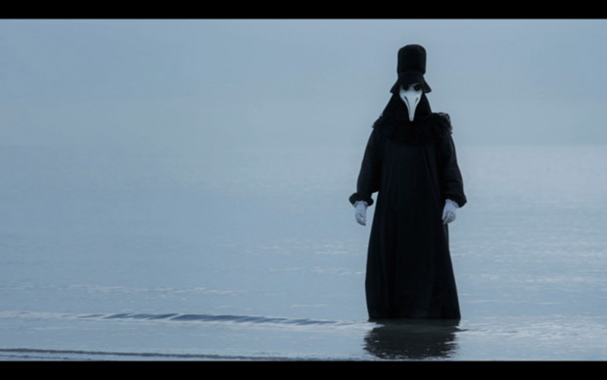 The plague doctor, as seen in the teaser footage for Emanuel Mengotti's independent film, The Plague Doctor.