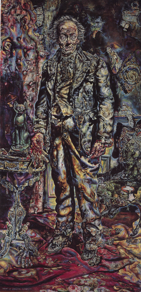 The Picture of Dorian Gray by Ivan Albright https://upload.wikimedia.org/wikipedia/commons/8/86/The_Picture_of_Dorian_Gray.jpg