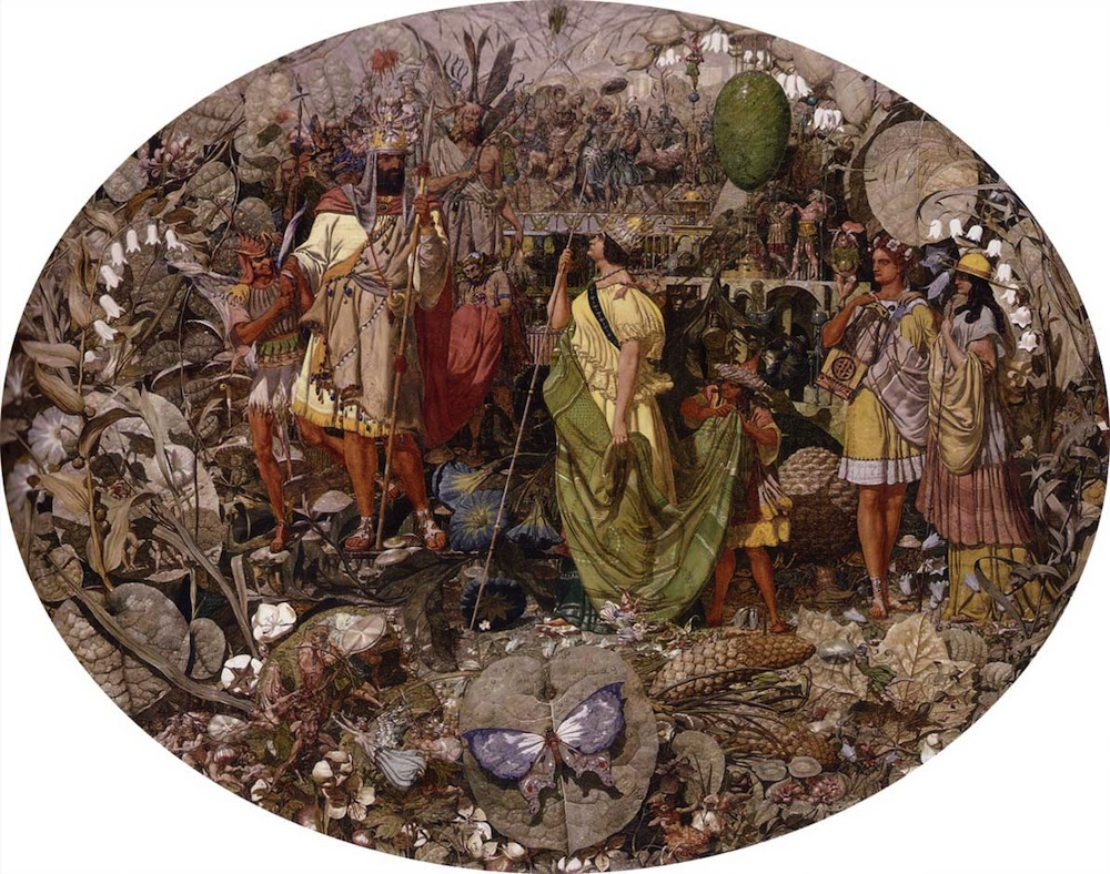 3.Contradiction: Oberon and Titania (1854-58) https://commons.wikimedia.org/wiki/File:Contradiction_Oberon_and_Titania_1854-8_Richard_Dadd.jpg