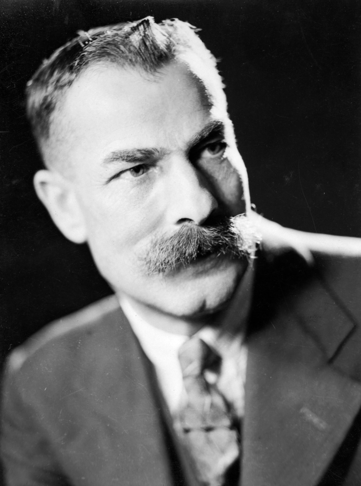 Studio portrait of Arthur Spray, in his new suit, c1936 © Bexhill Museum Arthur Spray Archive