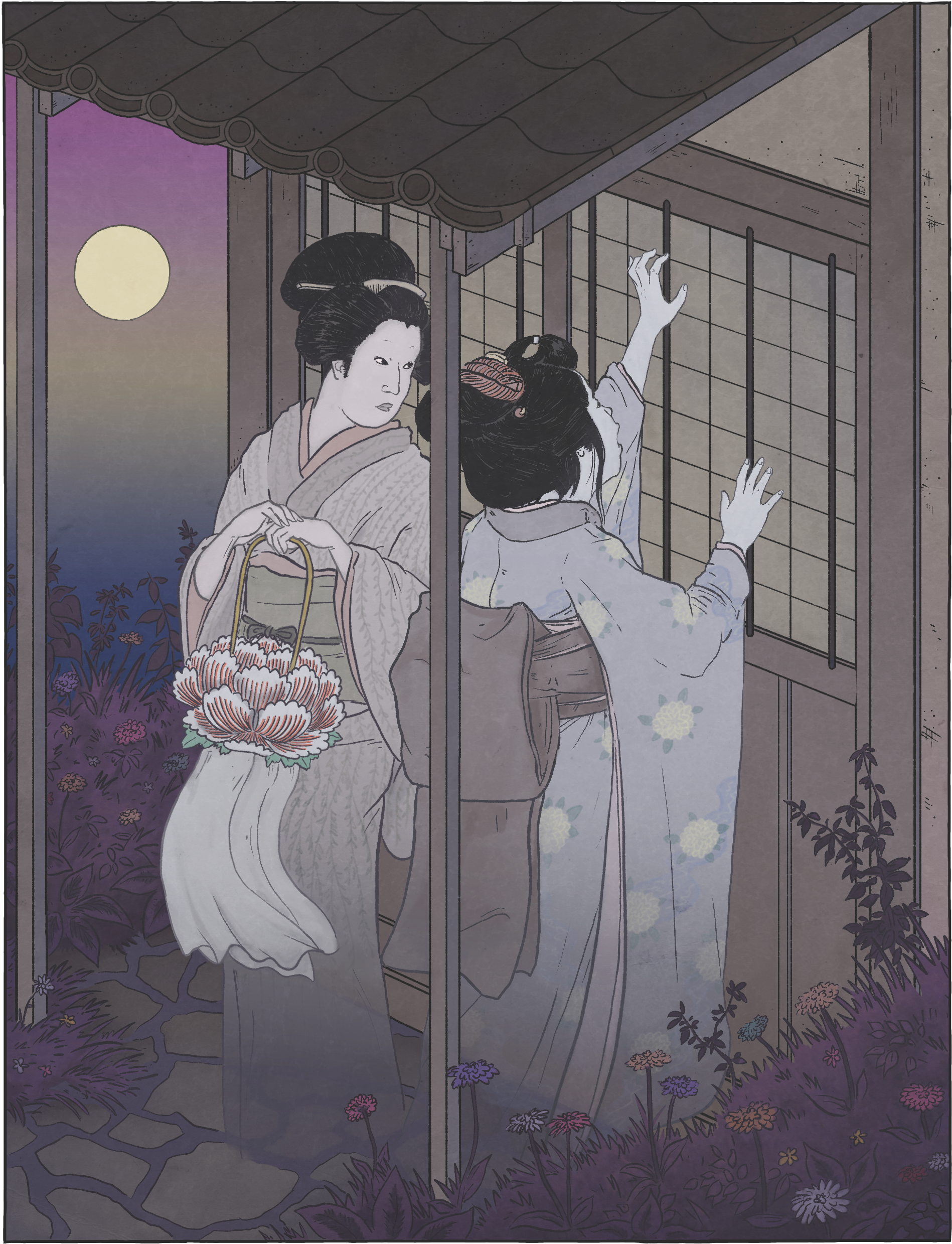 Otsuyu by Matthew Meyer http://yokai.com/otsuyu/