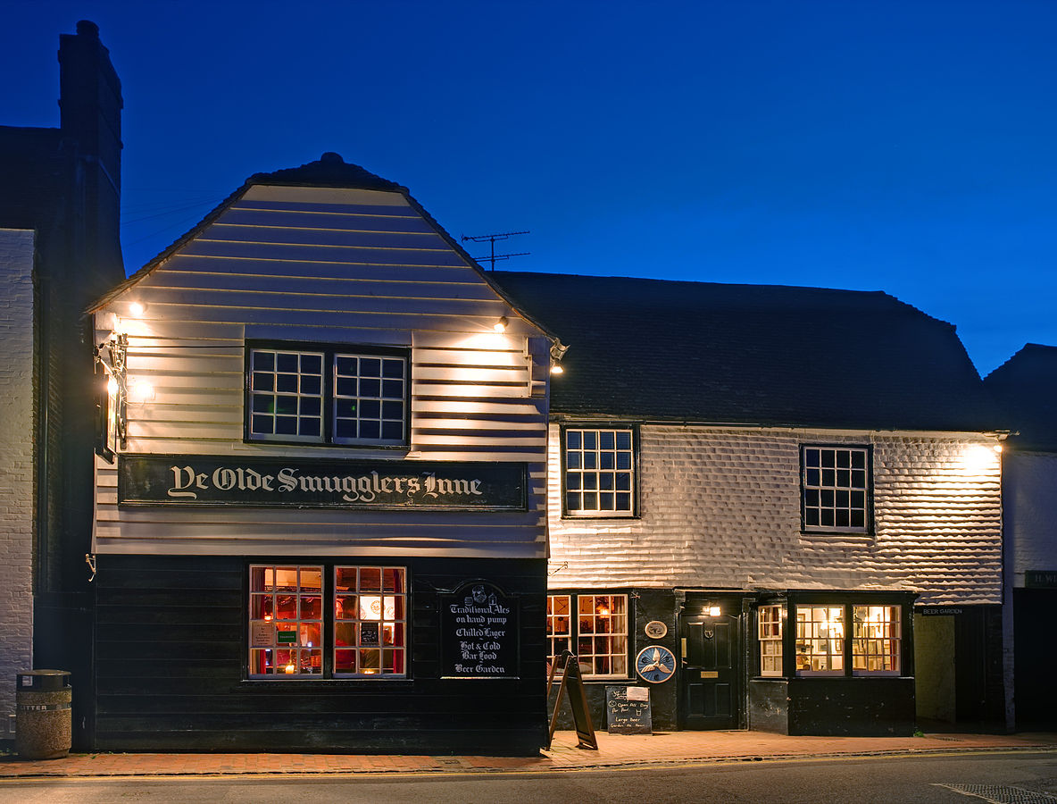 The Smugglers Inn in Alfriston, East Sussex