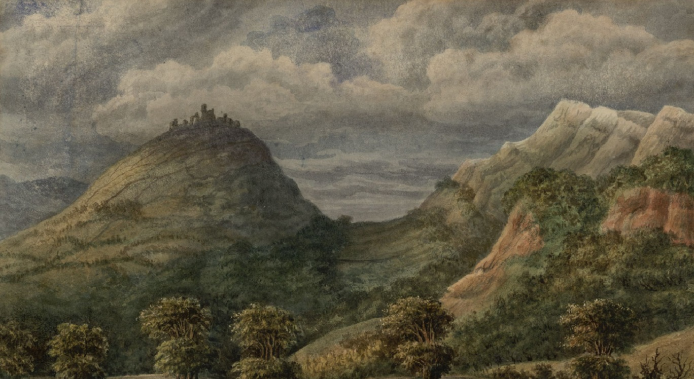 Dinas Bran https://commons.wikimedia.org/wiki/File%3ADV405_no.16_Dinas_Bran_Castle.png
