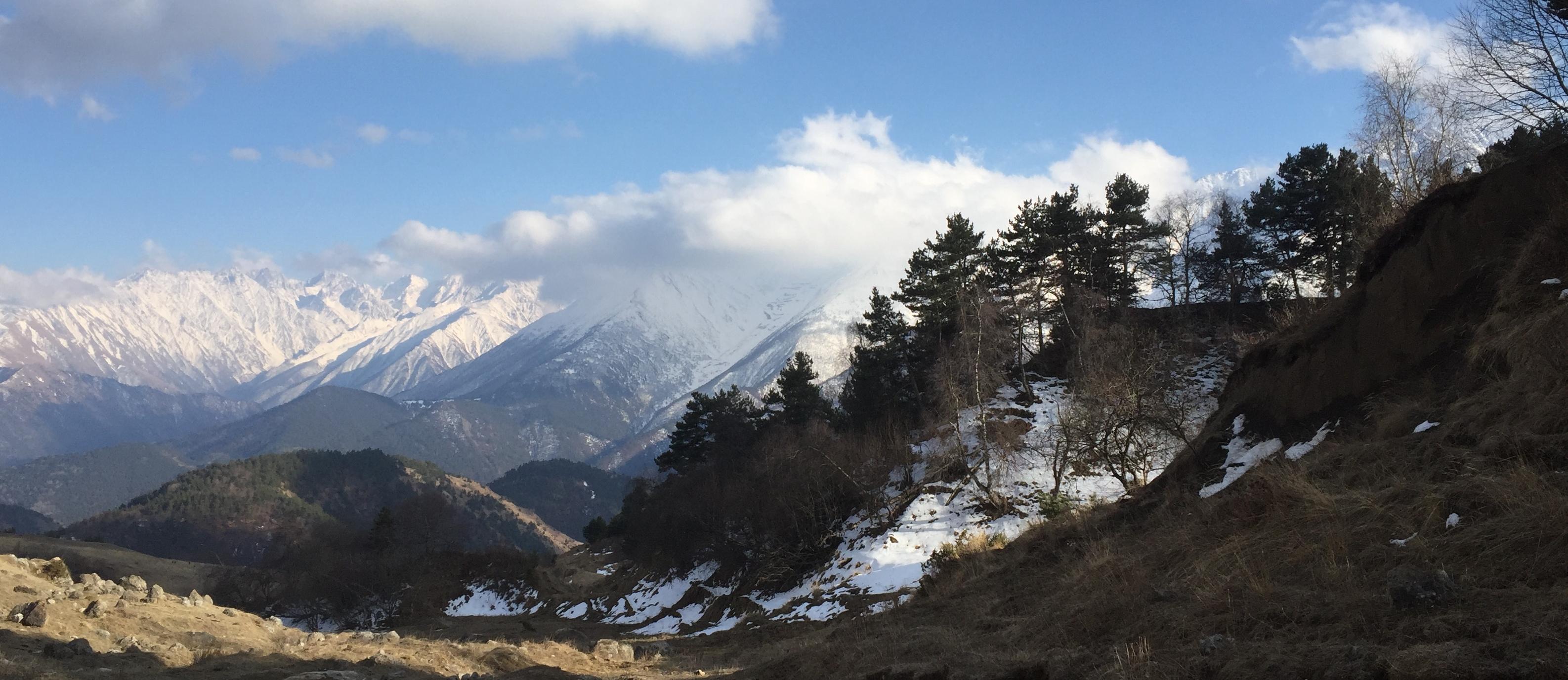 Ingushetia, photograph by Daria Kulesh