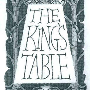 The King's Table a new folktale by storyteller Jean Edmiston illustrated by Andrew Foley, published by independent Hidden Dancer Press