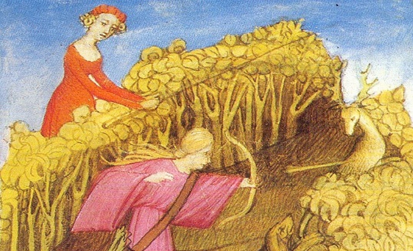 Women Hunting by Master of the Epître d'Othéa