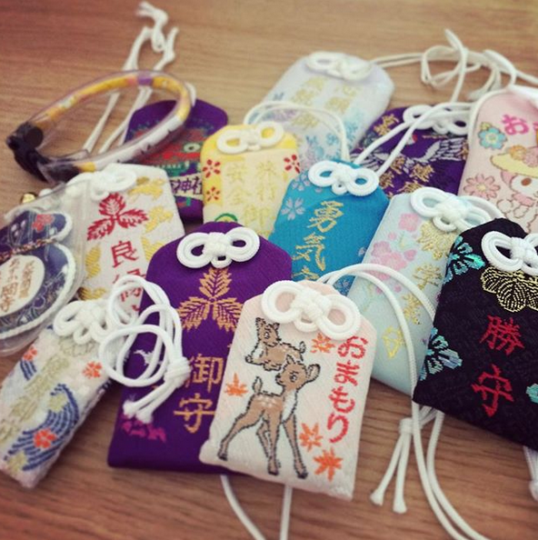 Omamori from Shrines