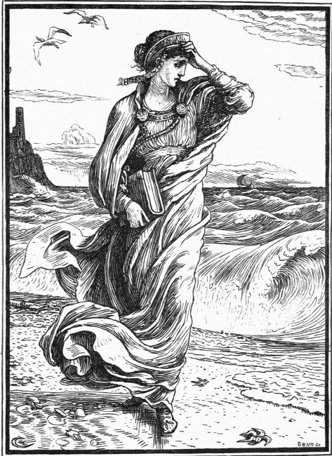 "Illustration from the literary fairy tale ""The Wise Princess"" By Mary de Morgan By Walter Crane - http://www.gutenberg.org/files/38976/38976-h/38976-h.htm#Page_175, Public Domain, https://commons.wikimedia.org/w/index.php?curid=24586986"