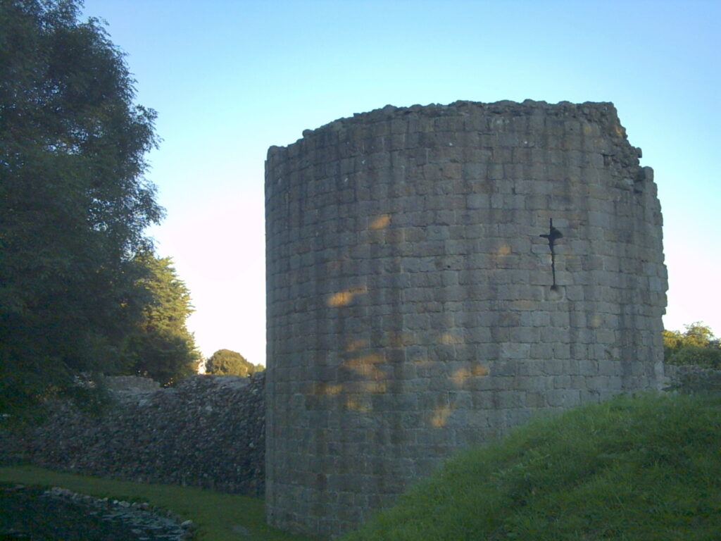 Whittington Castle Tower