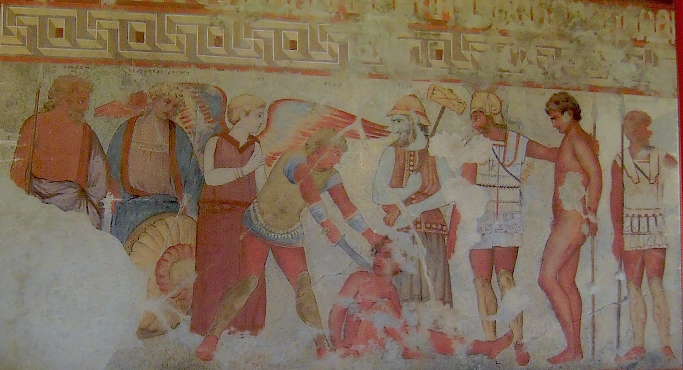Fresco depicting Vanth. François Tomb (Source: Battlelight)