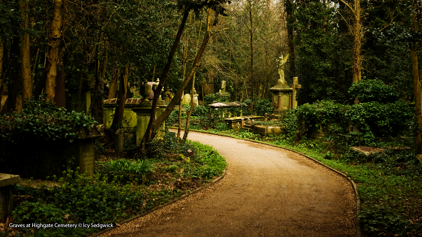 Graves at Highgate Cemetery © Icy Sedgwick