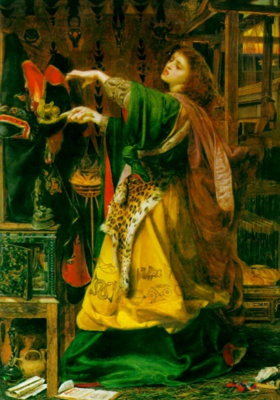 Morgan le Fay Source https://en.wikipedia.org/wiki/File:Morganlfay.jpg