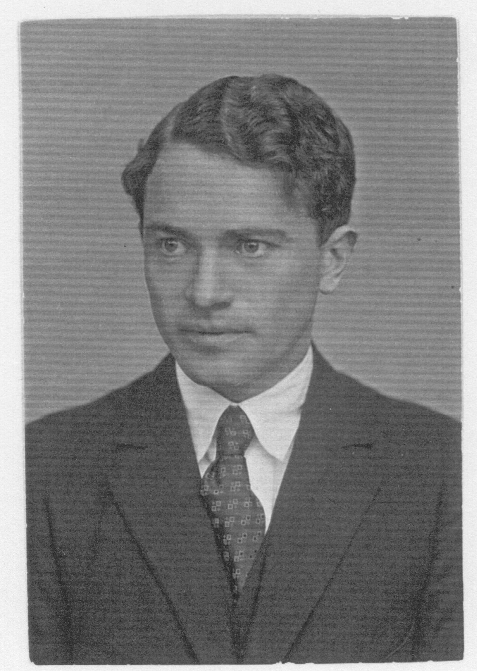 Sven S. Liljeblad (ca. 1927), a student of C.W. von Sydow, wrote his dissertation on the Grateful Dead. © RM James private collection