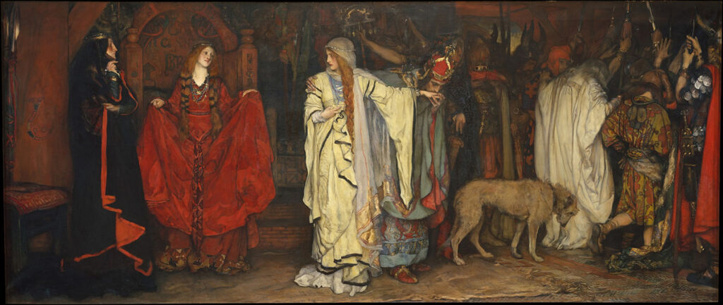 By Edwin Austin Abbey - Metropolitan Museum of Art, online database: entry 10049, Public Domain, https://commons.wikimedia.org/w/index.php?curid=38699090