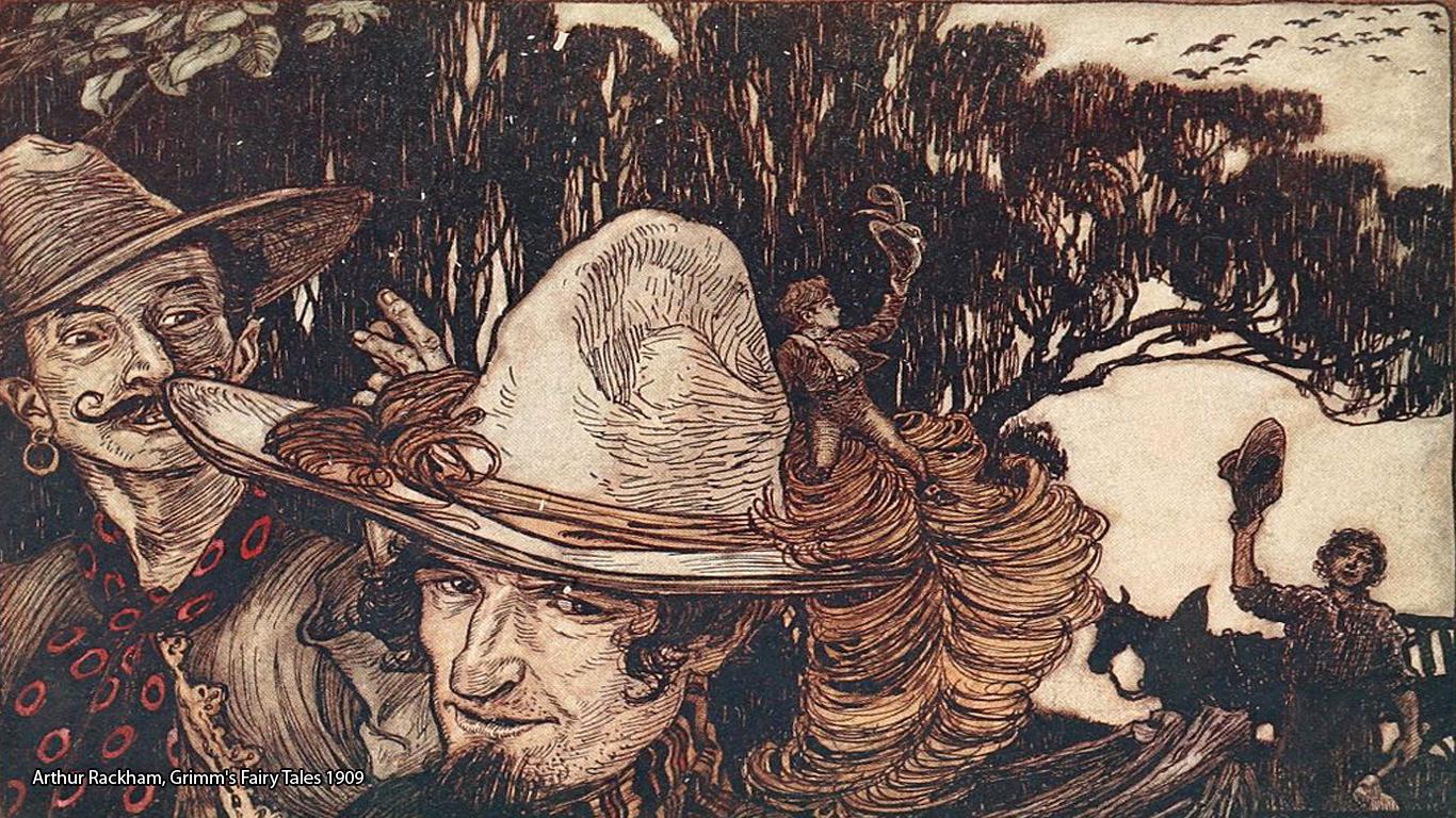 Arthur Rackham, Grimm's Fairy Tales 1909