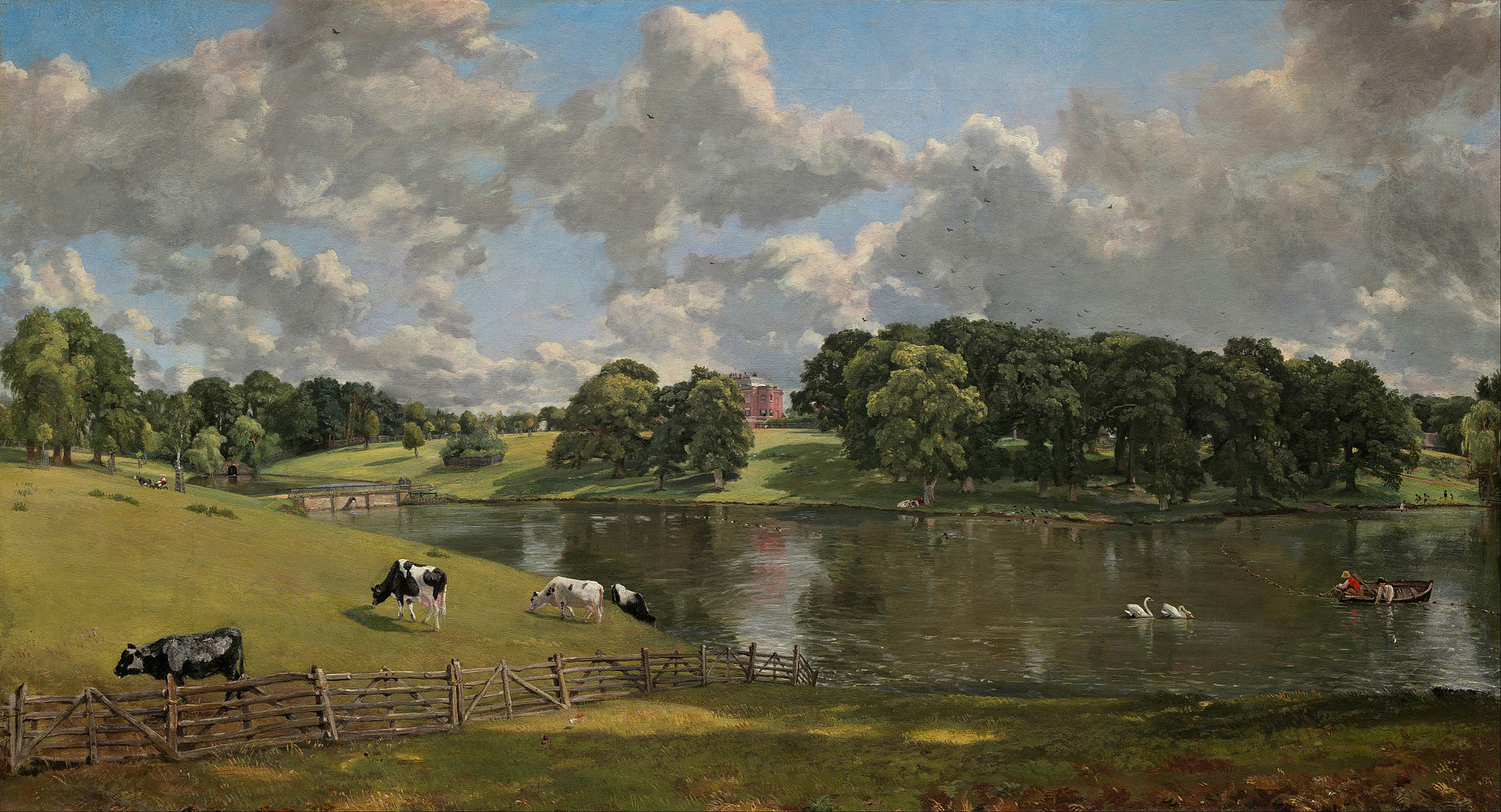 John Constable - Wivenhoe Park, Essex - Google Art Project, Public Domain, https://commons.wikimedia.org/w/index.php?curid=21996910