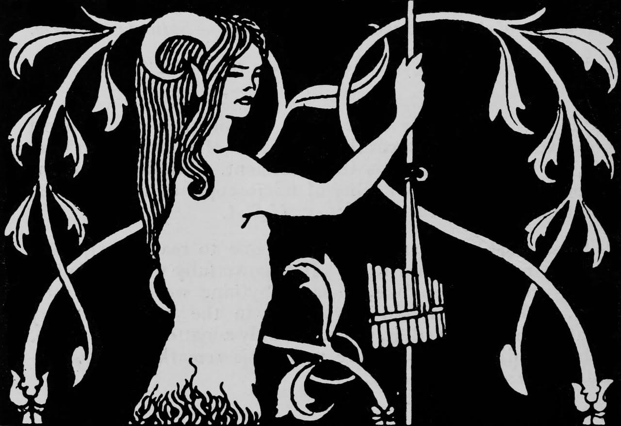 Pan, from 'The Great God Pan' by Aubrey Beardsley.