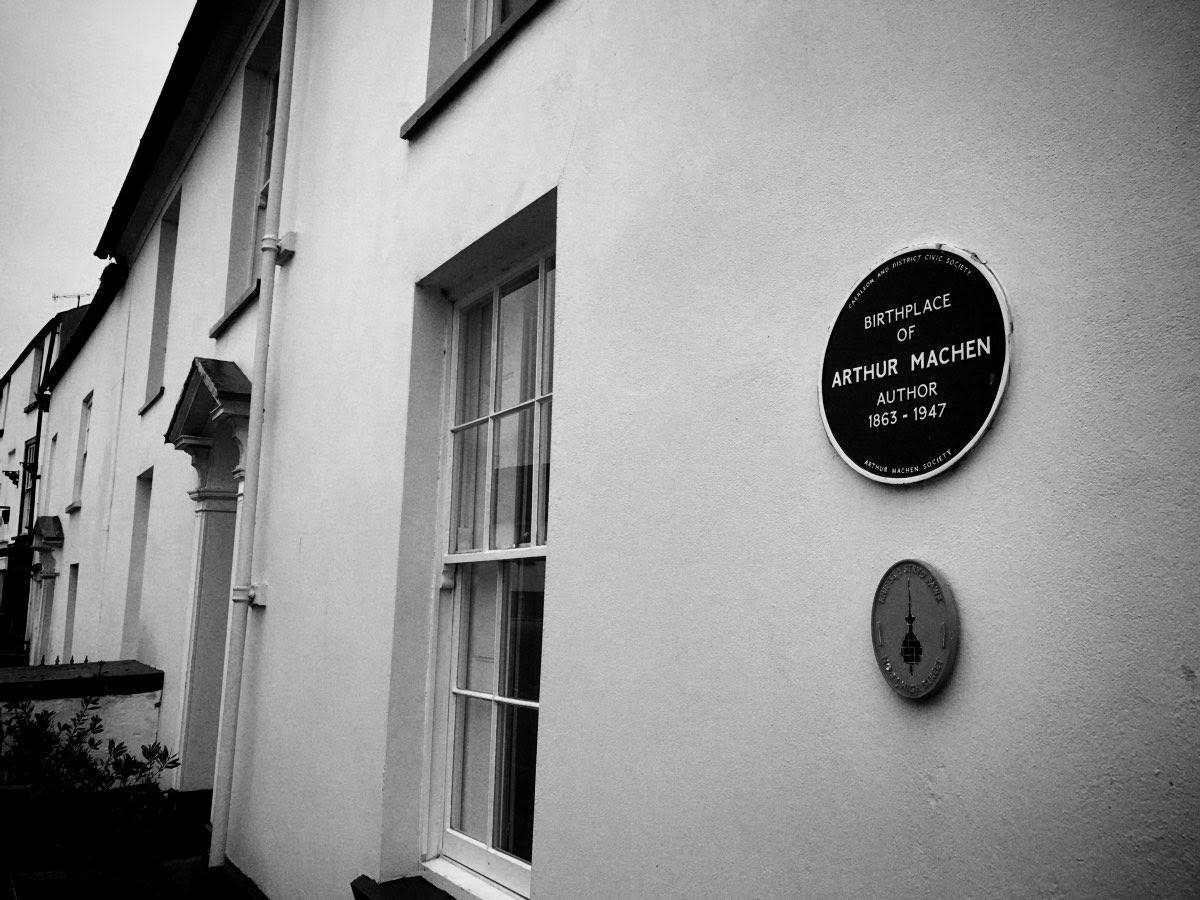 Arthur Machen's birthplace © Edward Parnell