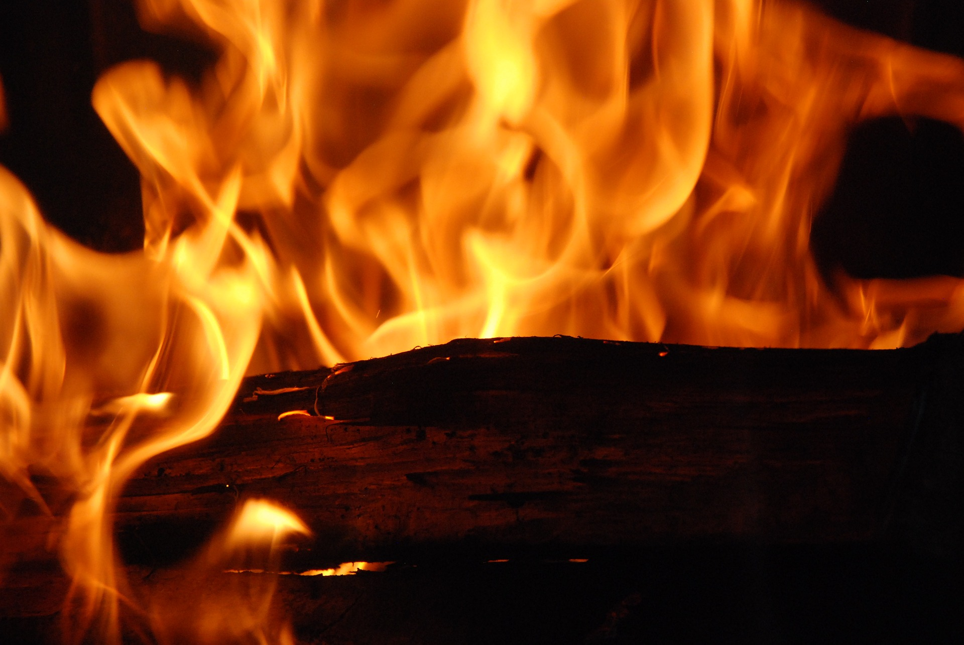 Yule log. Image by Franck Barske from Pixabay. https://pixabay.com/photos/fire-flames-wood-inflamed-logs-2762870/