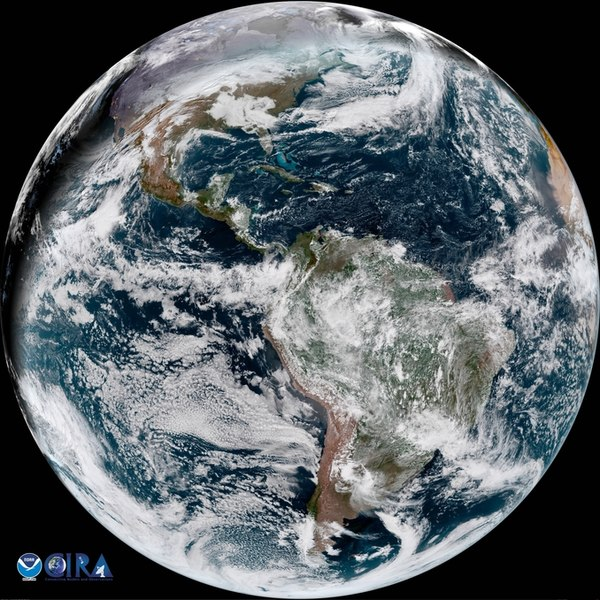 Happy Solstice! By NOAA SatellitesPublic Domain https://commons.wikimedia.org/w/index.php?curid=67000311