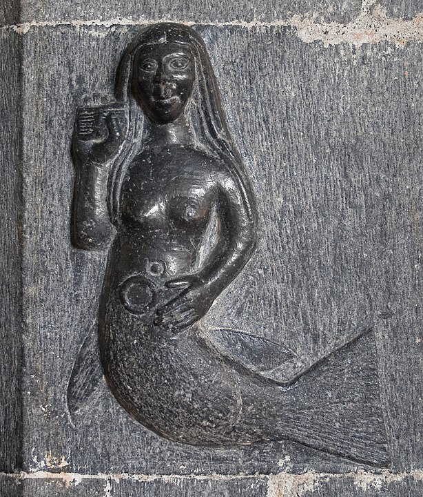Irish mermaid. By Andreas F. Borchert, CC BY-SA 4.0 https://commons.wikimedia.org/w/index.php?curid=8685669