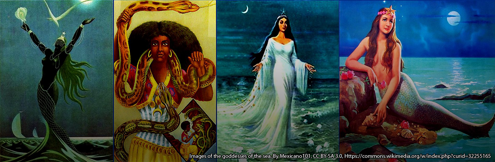 Images of the goddesses of the sea. By Mexicano101, CC BY-SA 3.0, Https://commons.wikimedia.org/w/index.php?curid=32255165