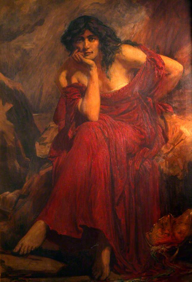 Ceridwen, the Sorceress. Christopher Williams. Public Domain https://commons.wikimedia.org/wiki/File:Ceridwen.jpg