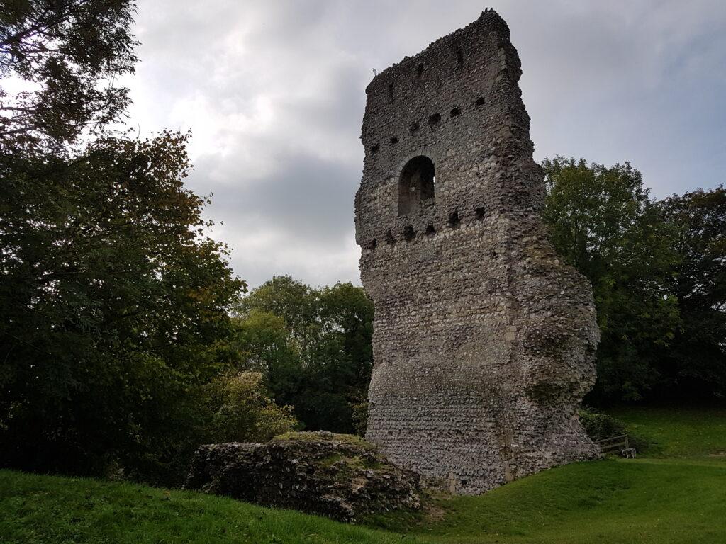 Bramber Castle © Catherine Cawley