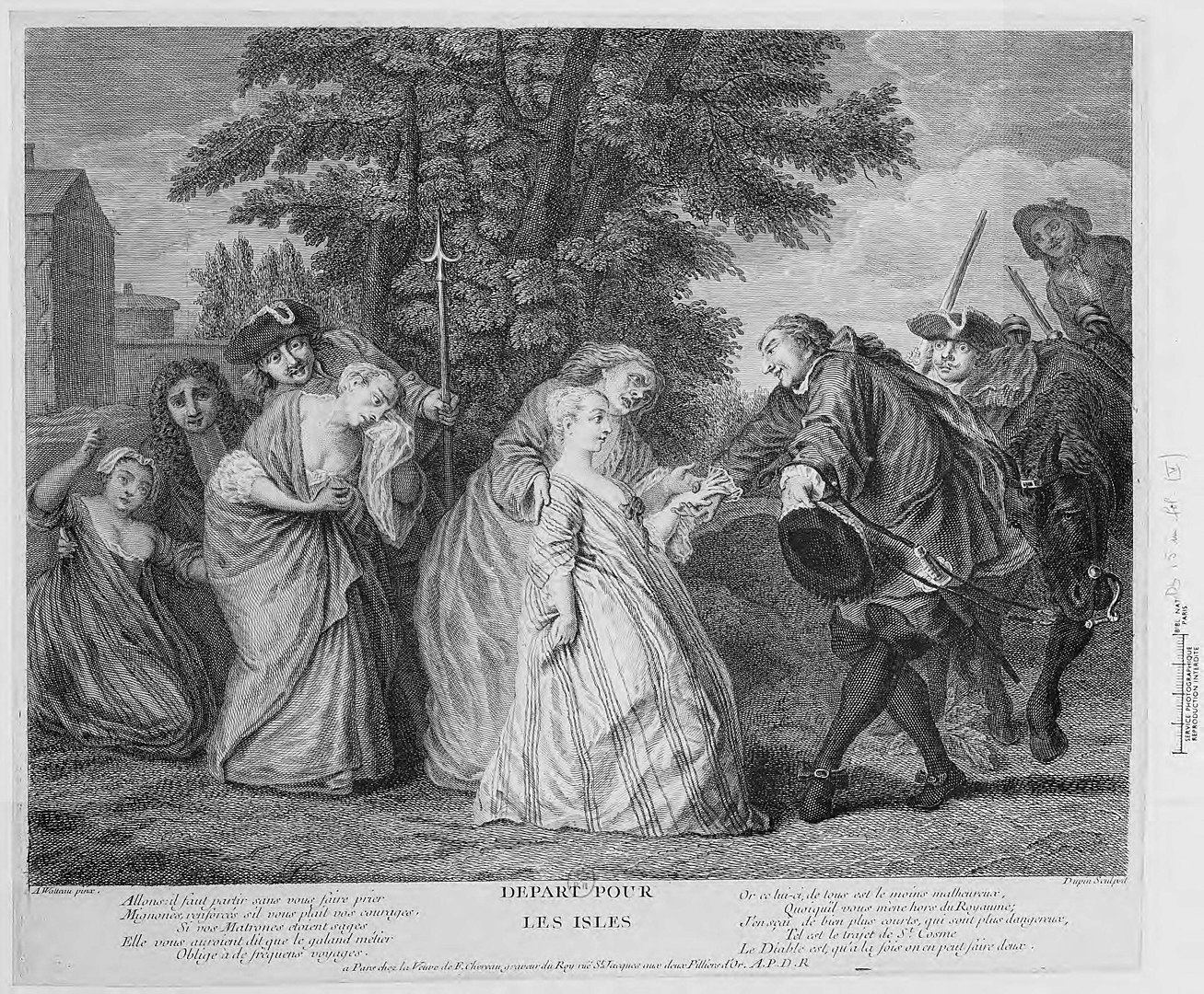The departure of the comfort women for the American isles. By Watteau - Bibliothèque nationale de France, Public Domain, https://commons.wikimedia.org/w/index.php?curid=11297875