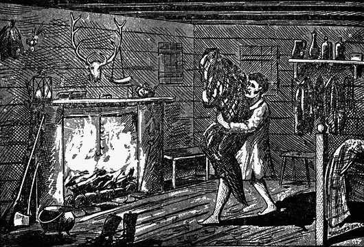 """""""The Bell Witch"""" by M.V. Ingram, public domain. https://commons.wikimedia.org/wiki/File:WmPorterBurnWitch.jpg"""