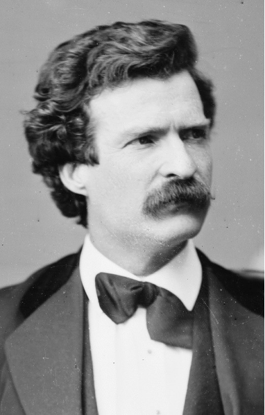 Figure 2. A young Mark Twain failed to mention Julia Bulette in Roughing It, despite living in Virginia City at the same time for over a year.