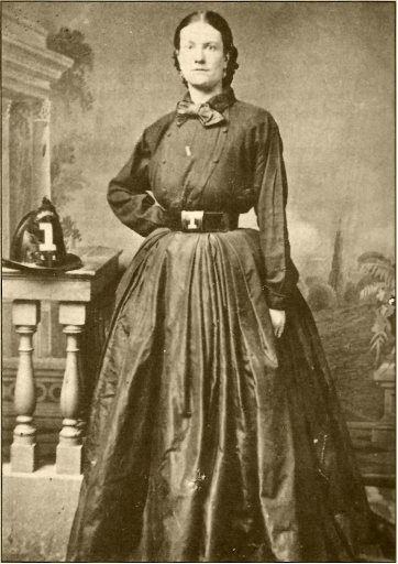 Figure 1. Julia Bulette (ca. 1832-1867) was a mid-level sex worker in the American West. Murdered on January 20, 1867, she emerged in regional folklore as a madam with fabulous wealth.
