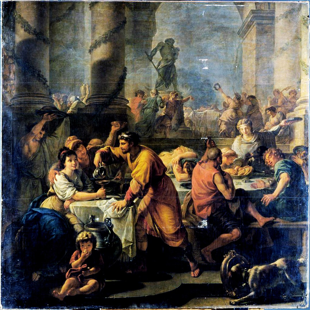 Saturnalia by Antoine Callet. CC0 https://commons.wikimedia.org/w/index.php?curid=32008455
