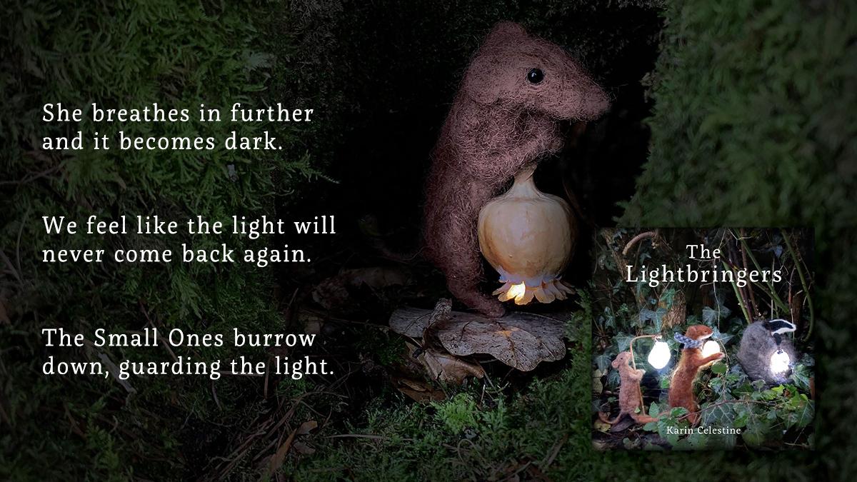 Lightbringer carrying a lantern