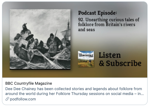 Countryfile podcast info poster